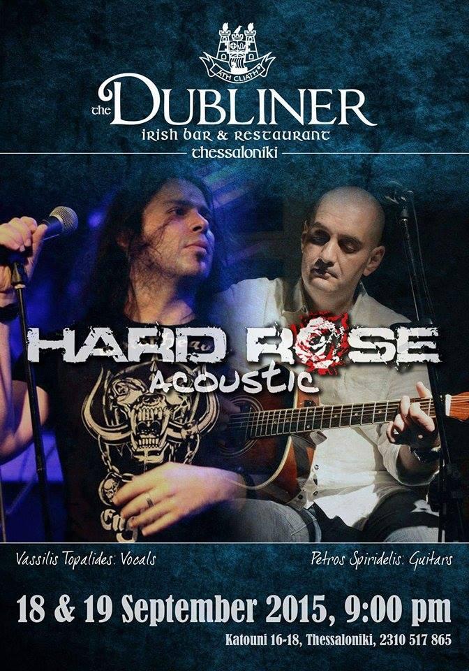 Hard Rose Acoustic – Live
