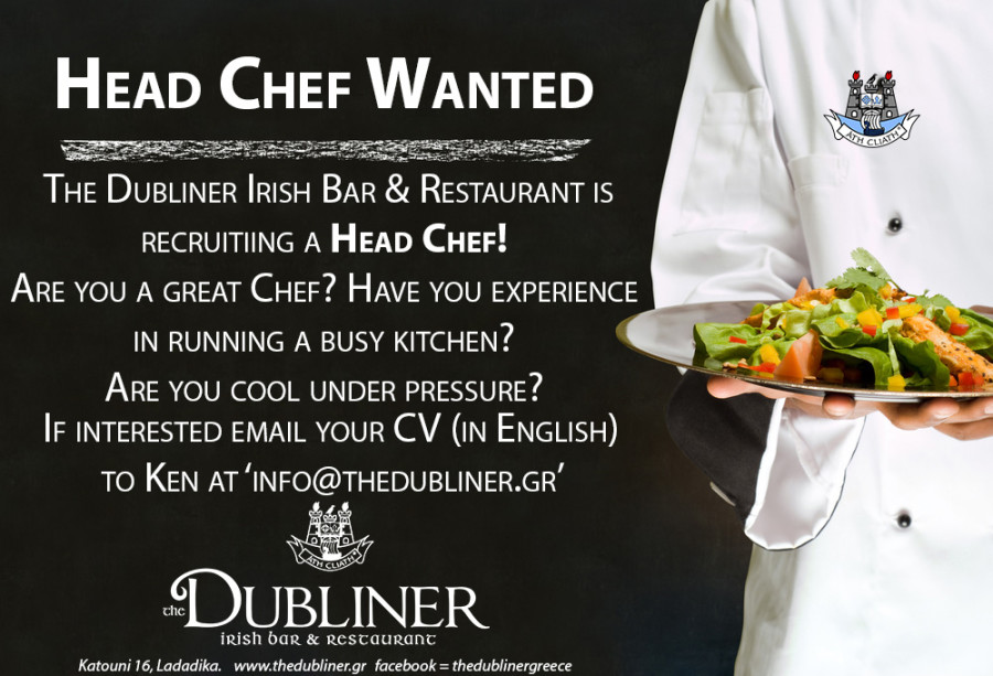 Head Chef Wanted