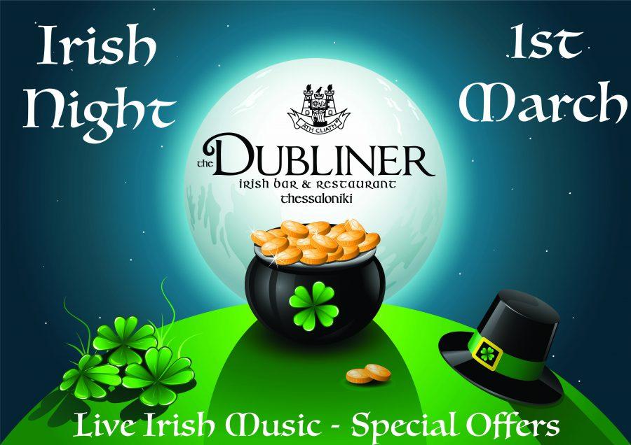 Irish Night 01/03