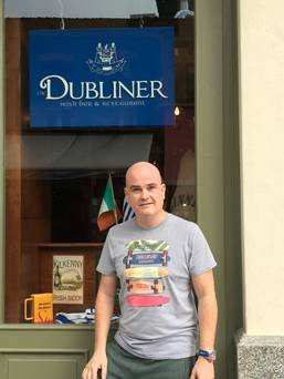 The Dubliner Supports Greece!