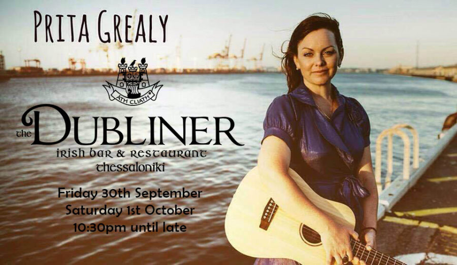 Prita Grealy 30/09 & 01/10 Live