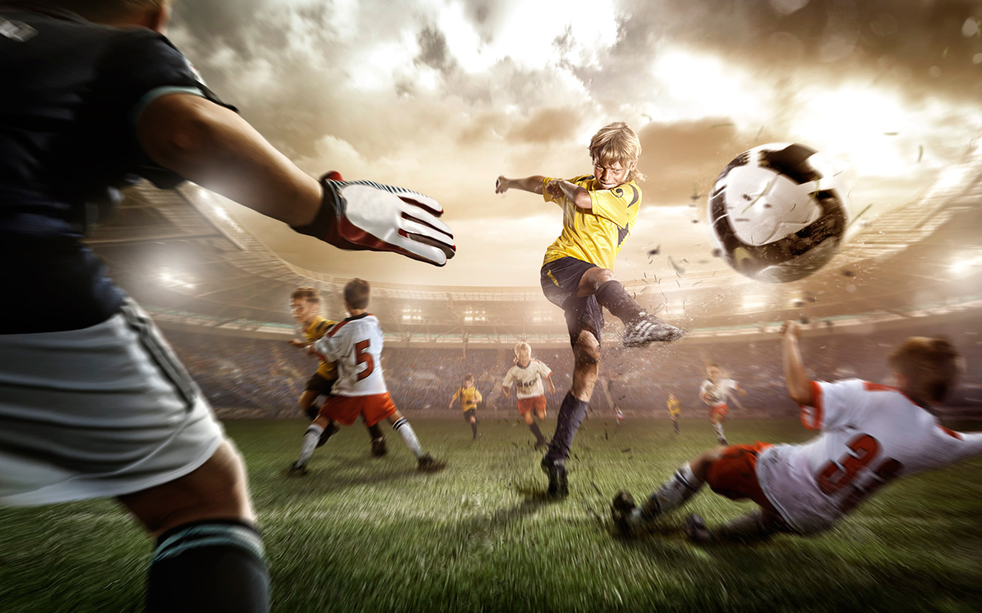 Football Wallpaper Sport Football Kids