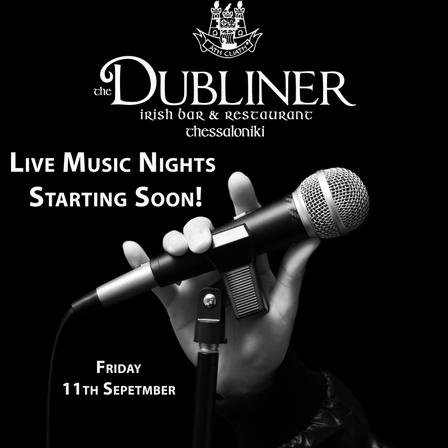 Live Music Nights Starting Friday 11th September!