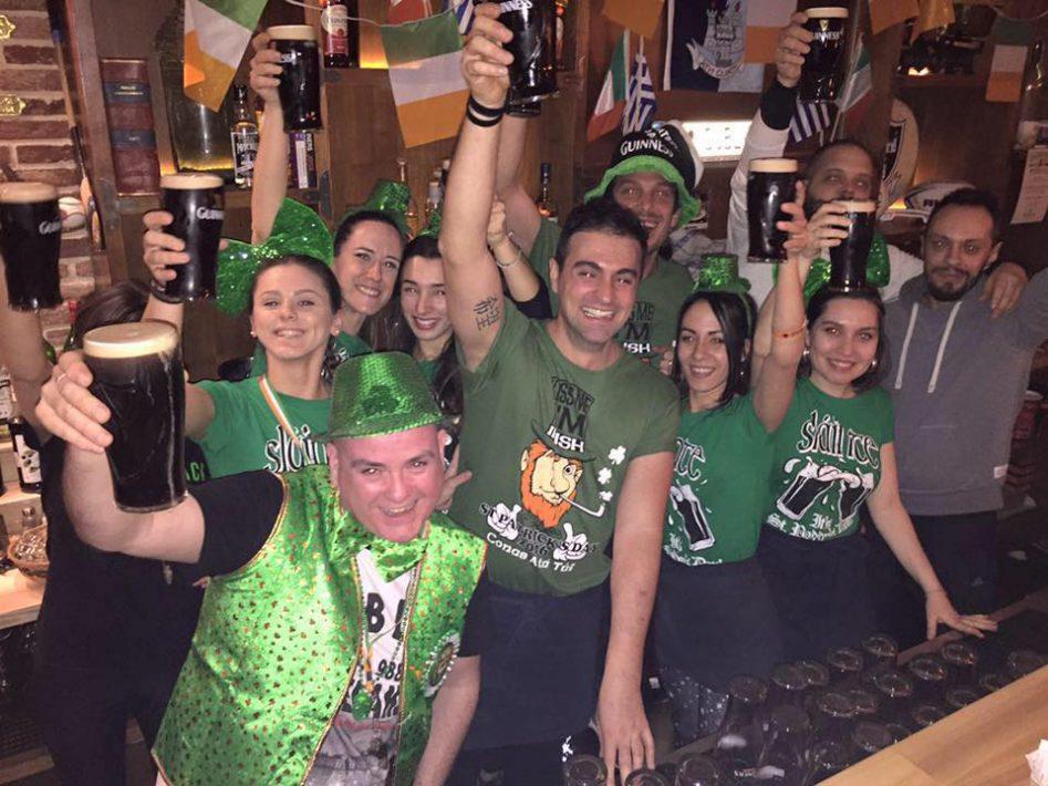 Fans of Dubliner